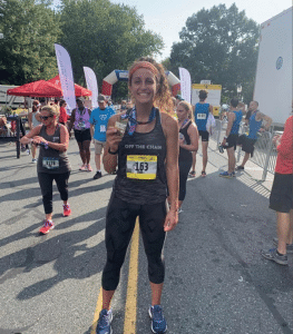 how cycling helped ashley's running